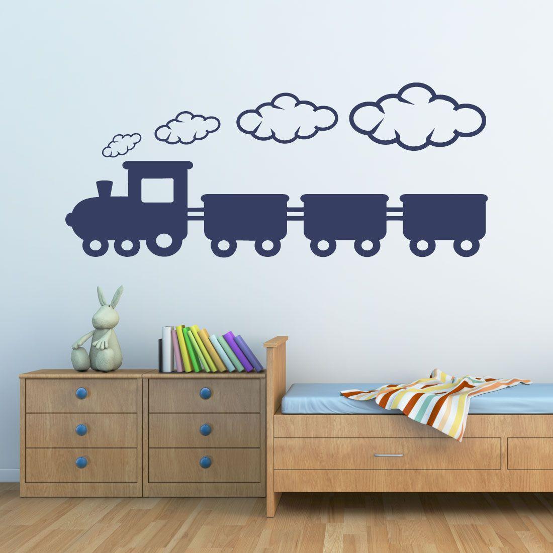 Malerisch Wandtattoos Babyzimmer Das Beste Von Wandtattoo Eisenbahn - Wandtattoo Kinderzimmer - Cocuk