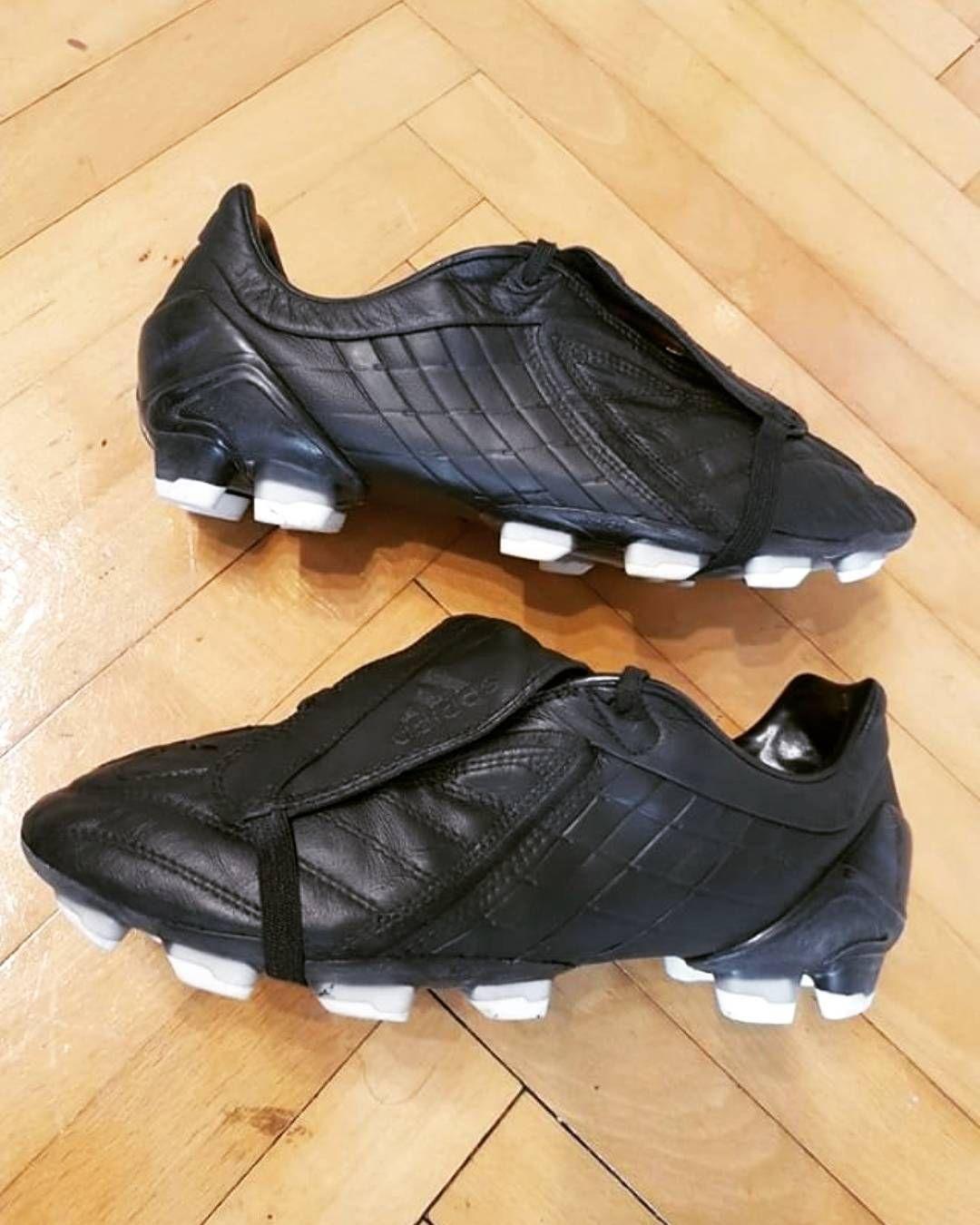 Adidas Predator Powerswerve Uk9 5 Fg Custom Blackout By Galaboots86 Dm Offers Or For More Pics Retroboots Predatormania Futbol Palomitas De Maiz