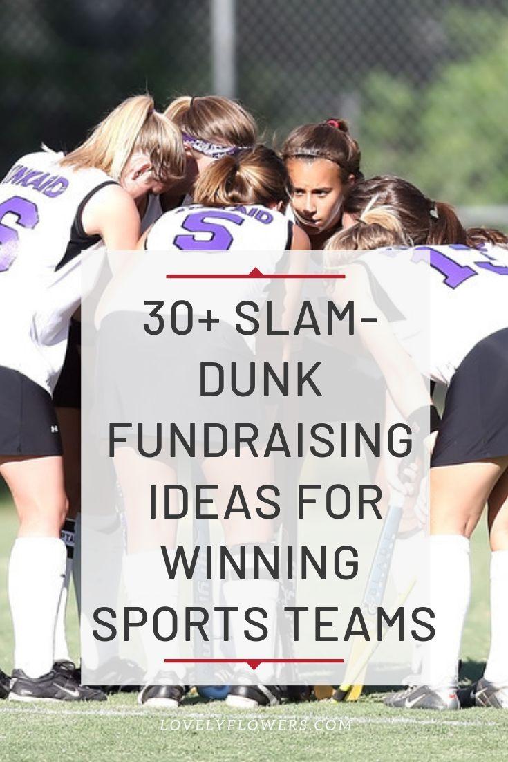 30+ SlamDunk Fundraising Ideas for Winning Sports Teams