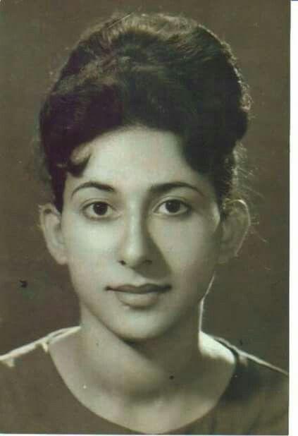 الممثلة العراقية فوزية الشندي في الستينات بداية مشوارها الفني Baghdad Baghdad Iraq Mesopotamia