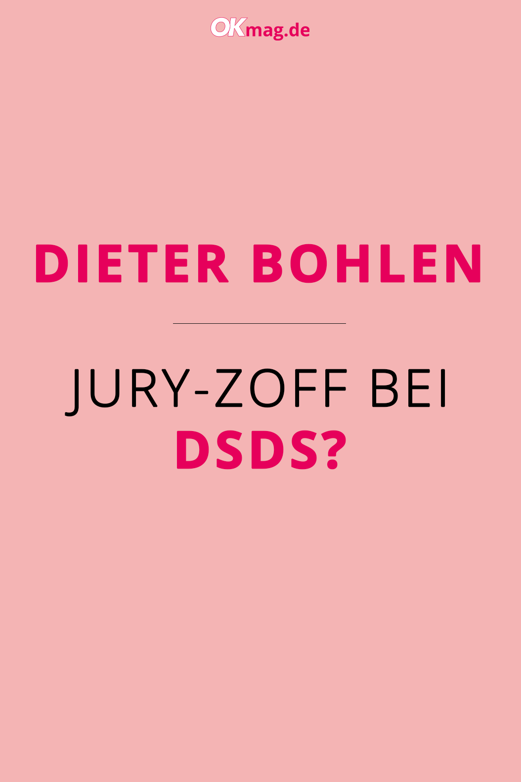 Dieter Bohlen Jury Zoff Hinter Den Dsds Kulissen Dsds Bohlen Dieter Bohlen