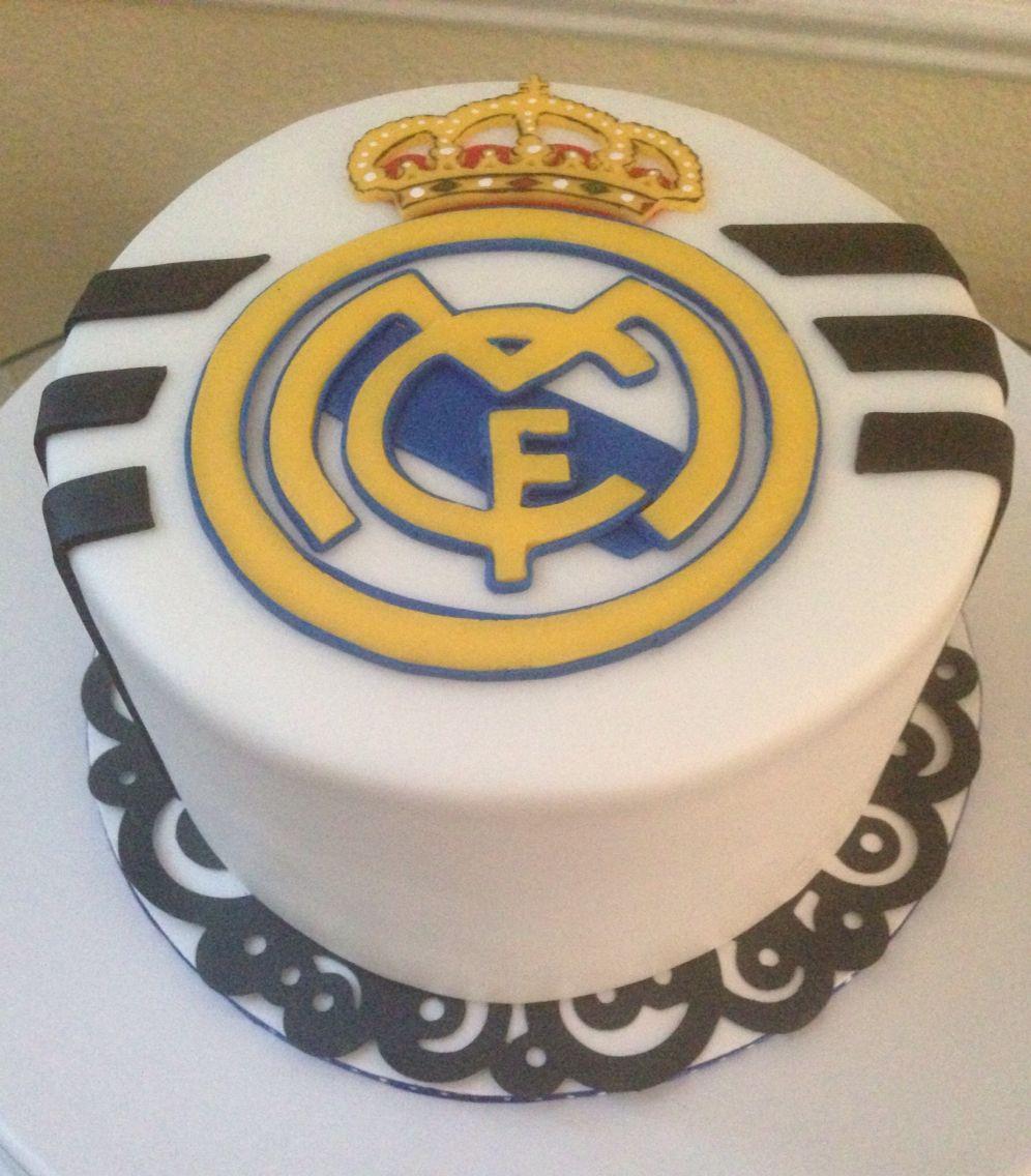 Wondrous Queques Con Imagenes Torta Real Madrid Pasteles Divertidos Funny Birthday Cards Online Elaedamsfinfo