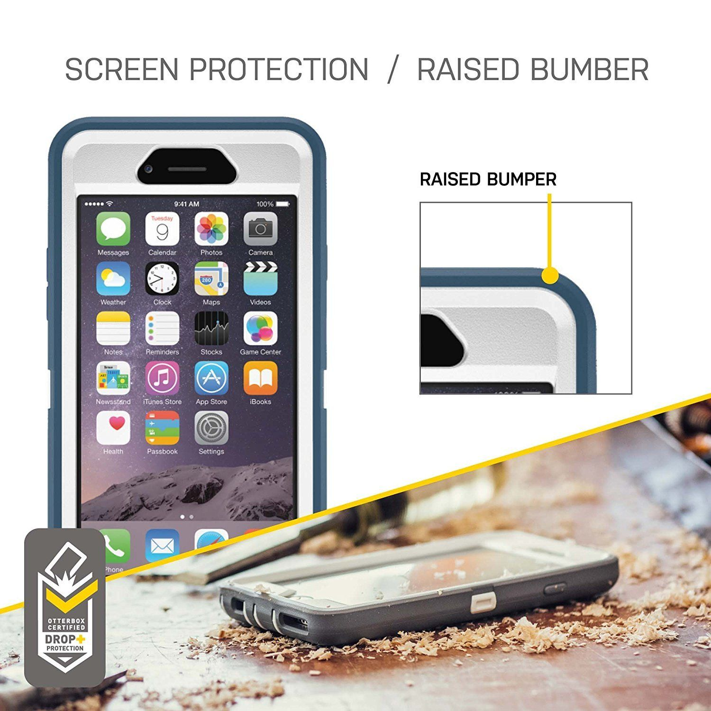 new arrival c09ac 14c4e OtterBox DEFENDER iPhone 6 Plus/6s Plus SEACREST WHISPER WHITE/LIGHT ...