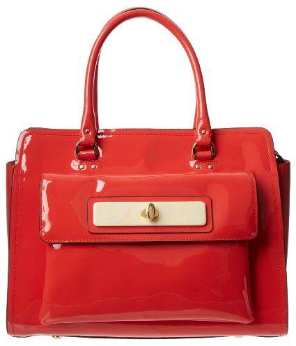 Amazon.com: Orla Kiely Patent Leather Ella Tote