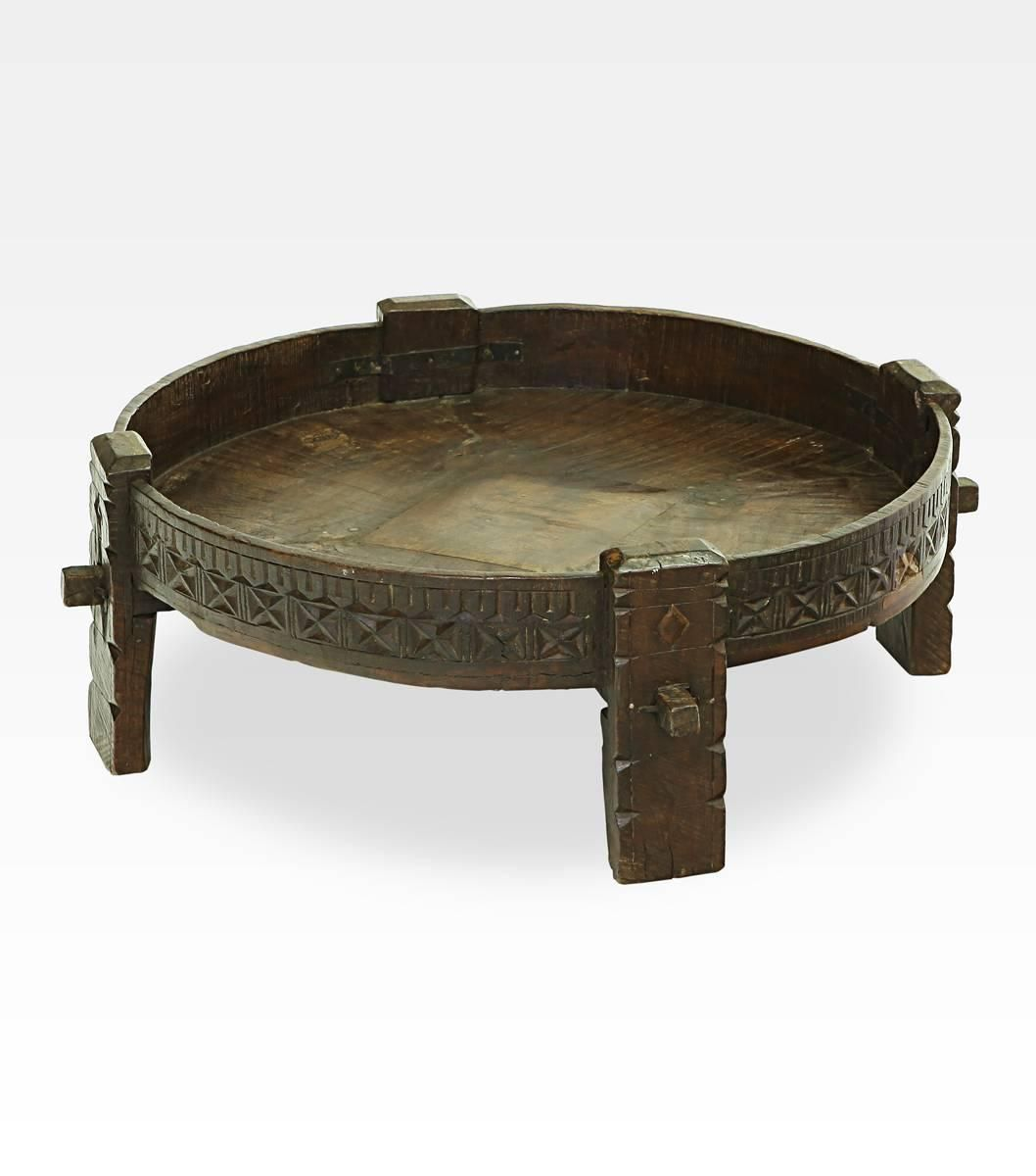 Ancient Indian Table 1stdibs Com Indian Table Indian Coffee Table Vintage Table