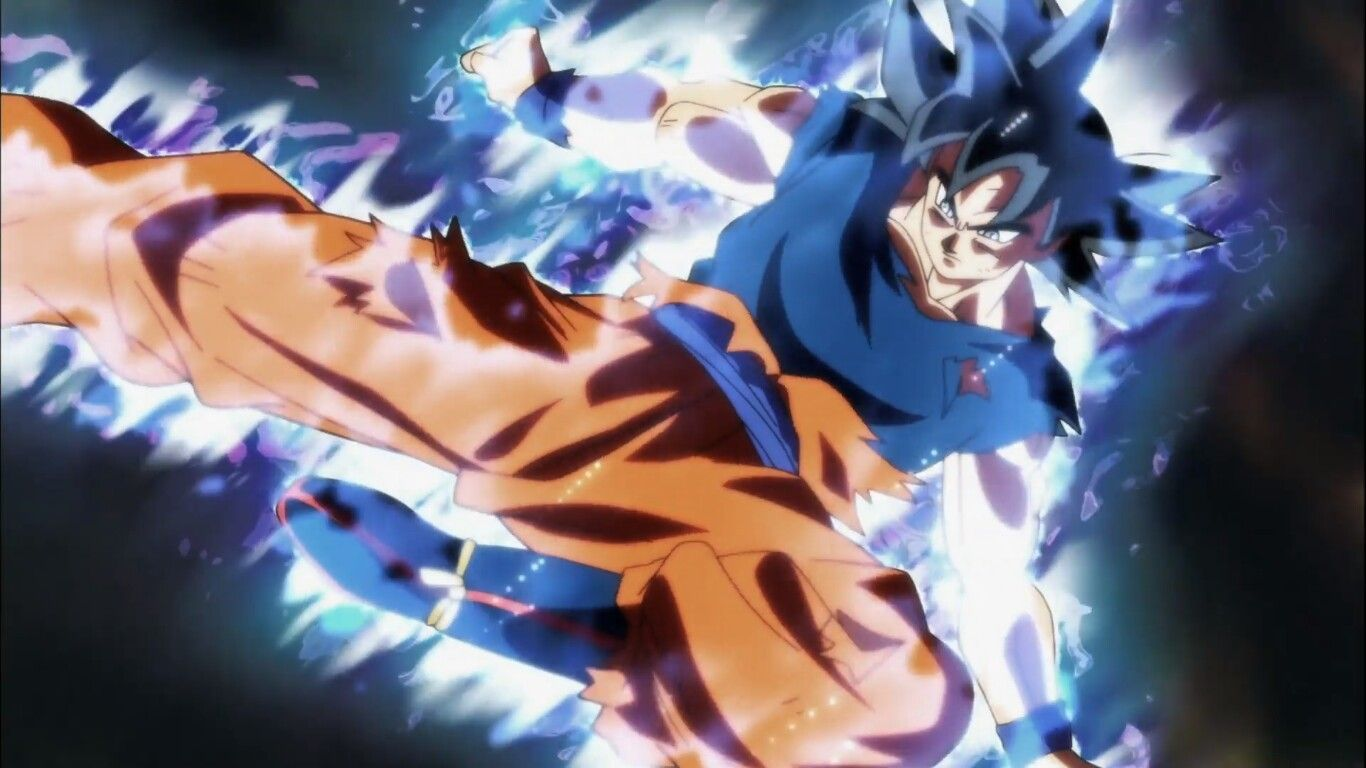 Ultra Instinct Goku S First Move Dragon Ball Super Goku Ultra