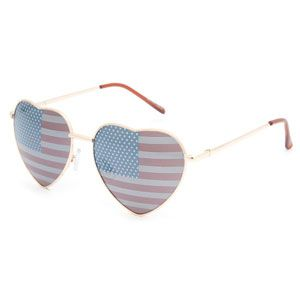 4d58bac90652e FULL TILT Luv Heart American Flag Sunglasses American Flag Sunglasses