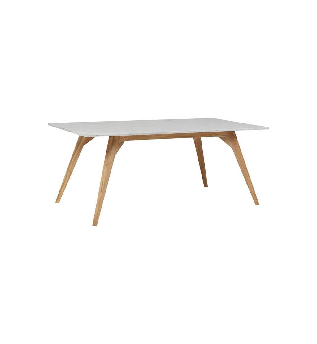 Fenton Fenton Woodrow Rectangle Marble Dining Table White Dining Table Marble Marble Top Dining Table Marble Side Tables