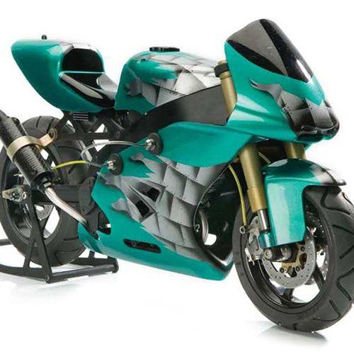 Amazing 1 5 Scale Superbike With 4 Stroke Power Flashback Beautiful Bike Rc Cars Bike