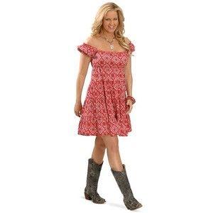 RU Cowgirl Calamity Jane Bandana Dress