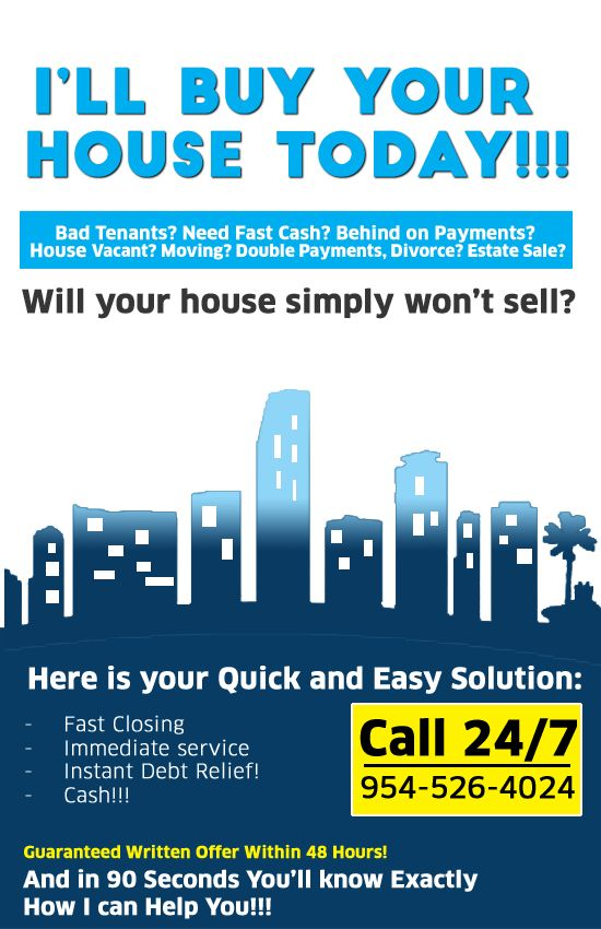Today We Buy Houses #southflorida #fortlauderdale # ...