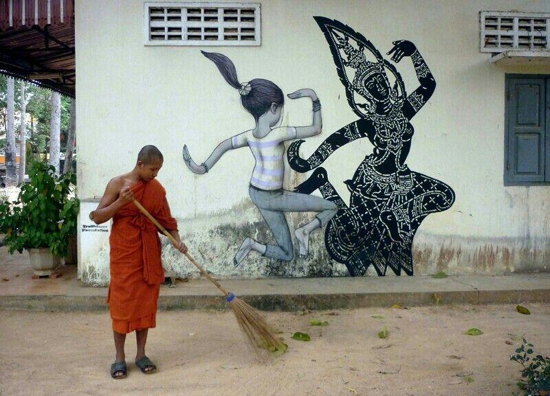 Seth Globepainter, Cambodia