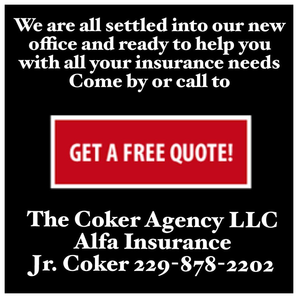 The Coker Agency Llc Alfa Insurance Jr Coker 229 878 2202 Albany