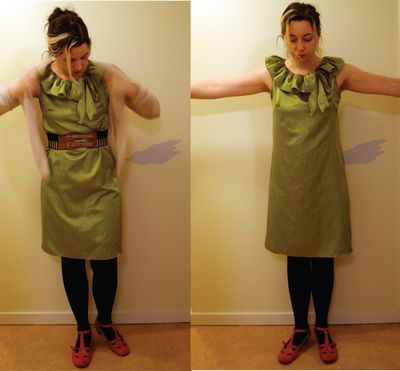 Antro inspired Lime Juice Dress