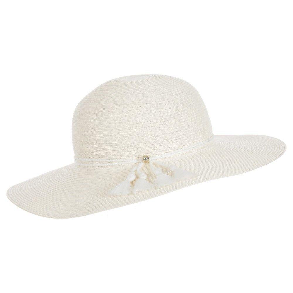 430843b69f6 Chloe Girls Ivory Straw Sun Hat