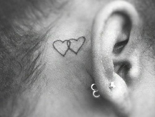 30 Cute Behind The Ear Tattoos Ear Tattoo Behind Ear Tattoos
