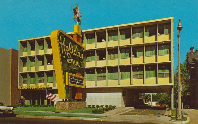 Holiday Inn Memphis Tennessee Vintage Hotels Hotel Motel