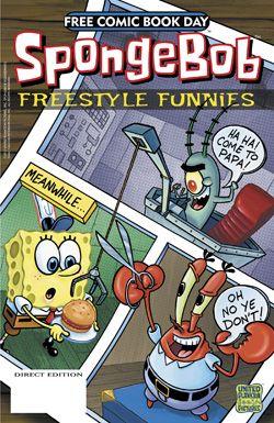 FCBD13 Interview: Gregg Schigiel Discusses SpongeBob Comics Freestyle Funnies
