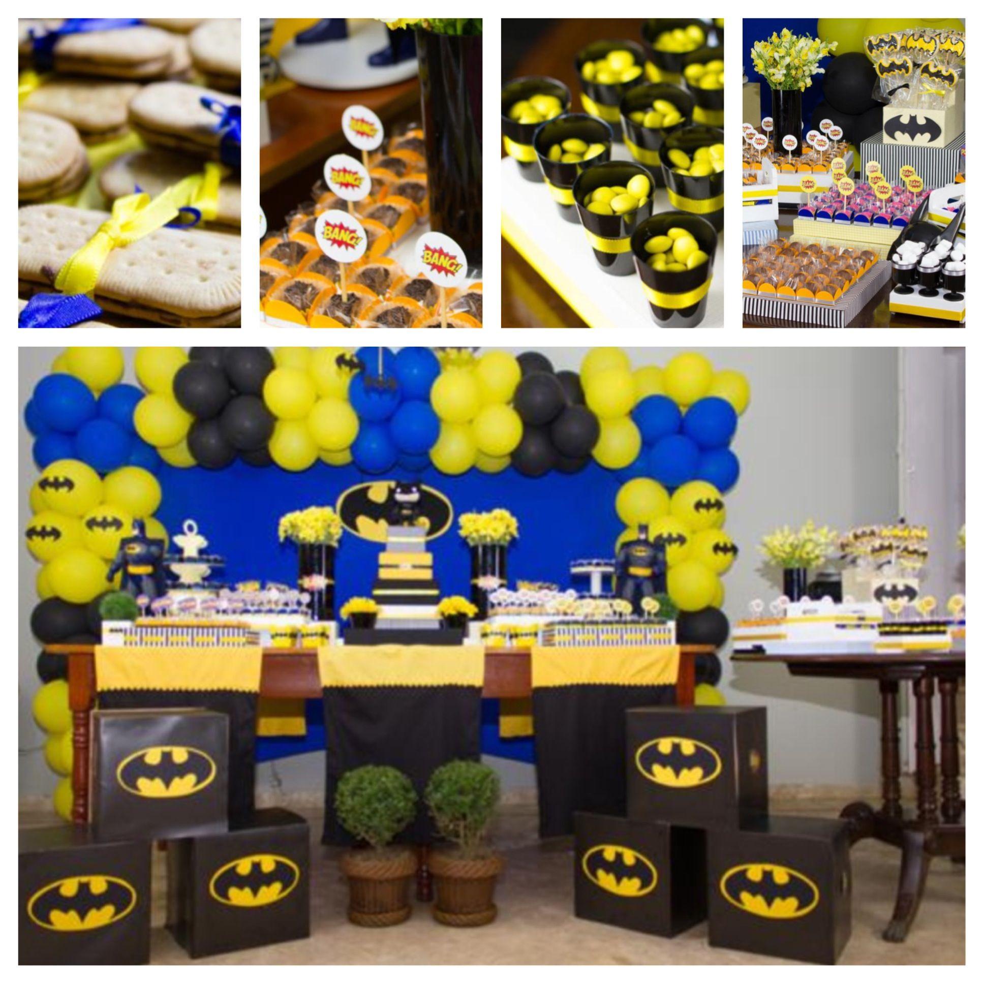 Batman Party Kara S Party Ideas Festa Batman Festa Infantil