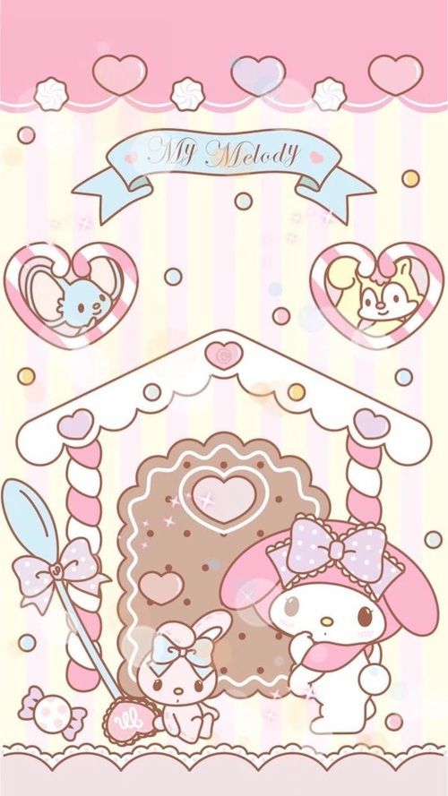 sanrio and my melody image