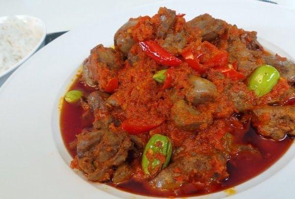 Resep Sambal Goreng Ati Sapi Ala Hajatan Resep Resep Masakan Asia Resep Masakan Indonesia