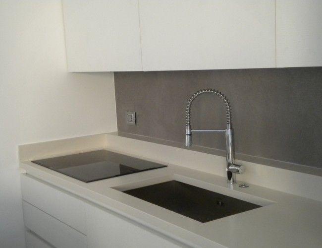 Kerlite su cucina cerca con google cucina kitchen pinterest - Piano cucina kerlite ...