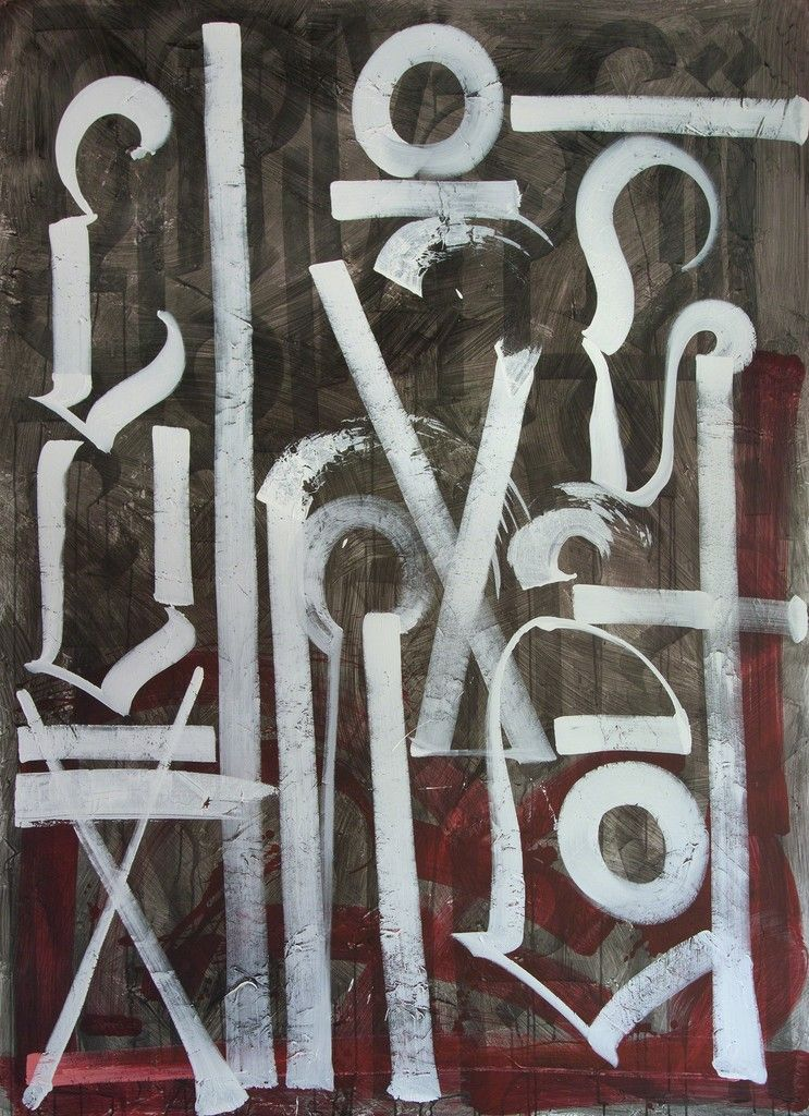Retna, Untitled, 2011, Heather James Fine Art