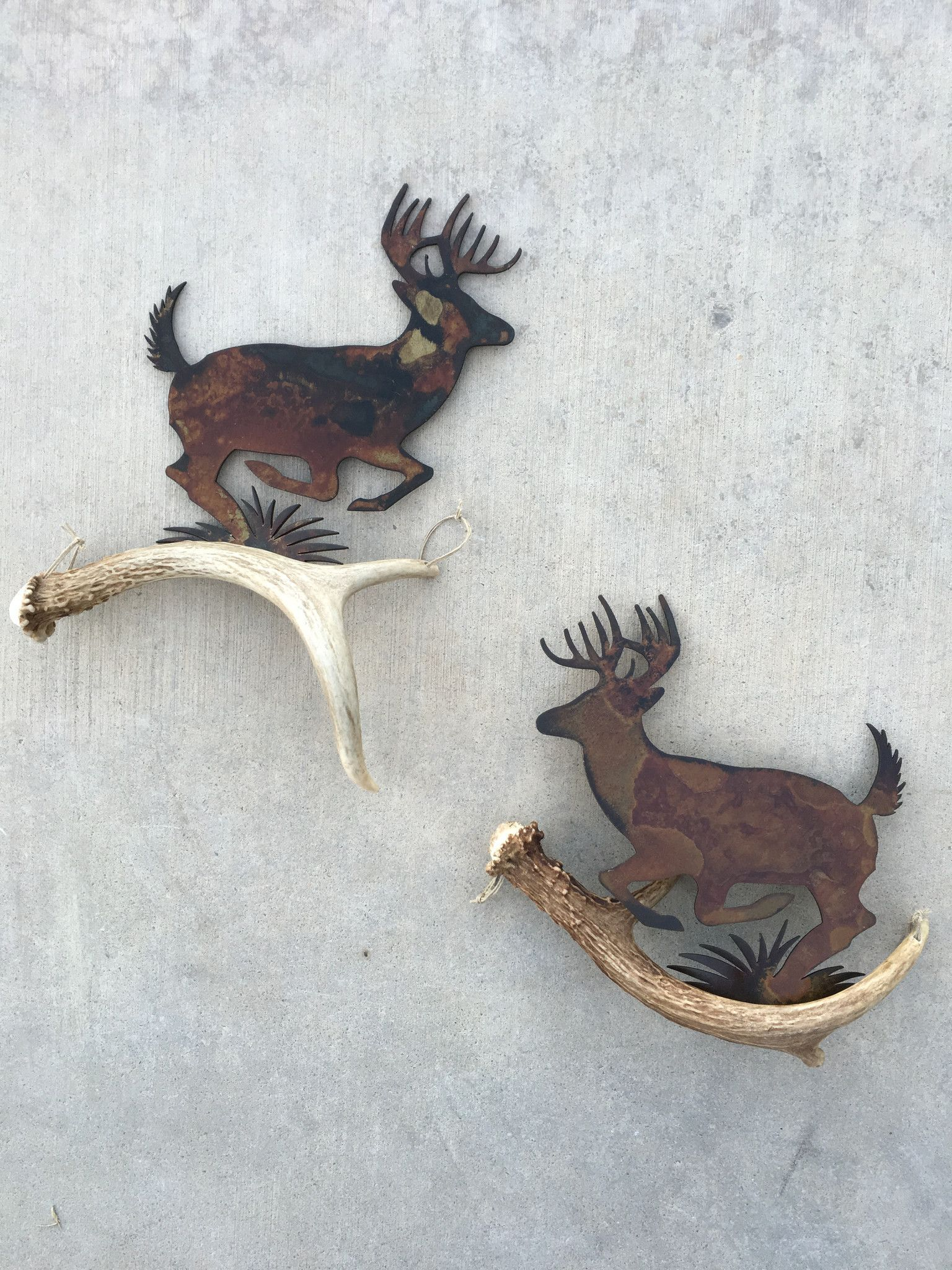 High Country Designs Antler Art This Beautiful Pair Of Rustic Wall Art Is Made Of Authentic Deer Antler And Precisi Antlers Decor Antler Art Deer Antler Decor