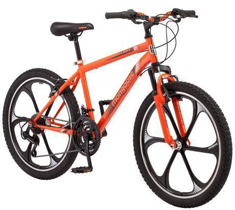 Mongoose 24 Boy S Alert Mag Wheel Bike Orange Bike Mountain