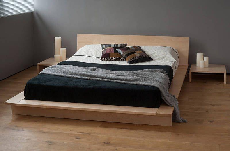 Oregon Platform Bed | Natural Bed Company | Trap House Ideas ...