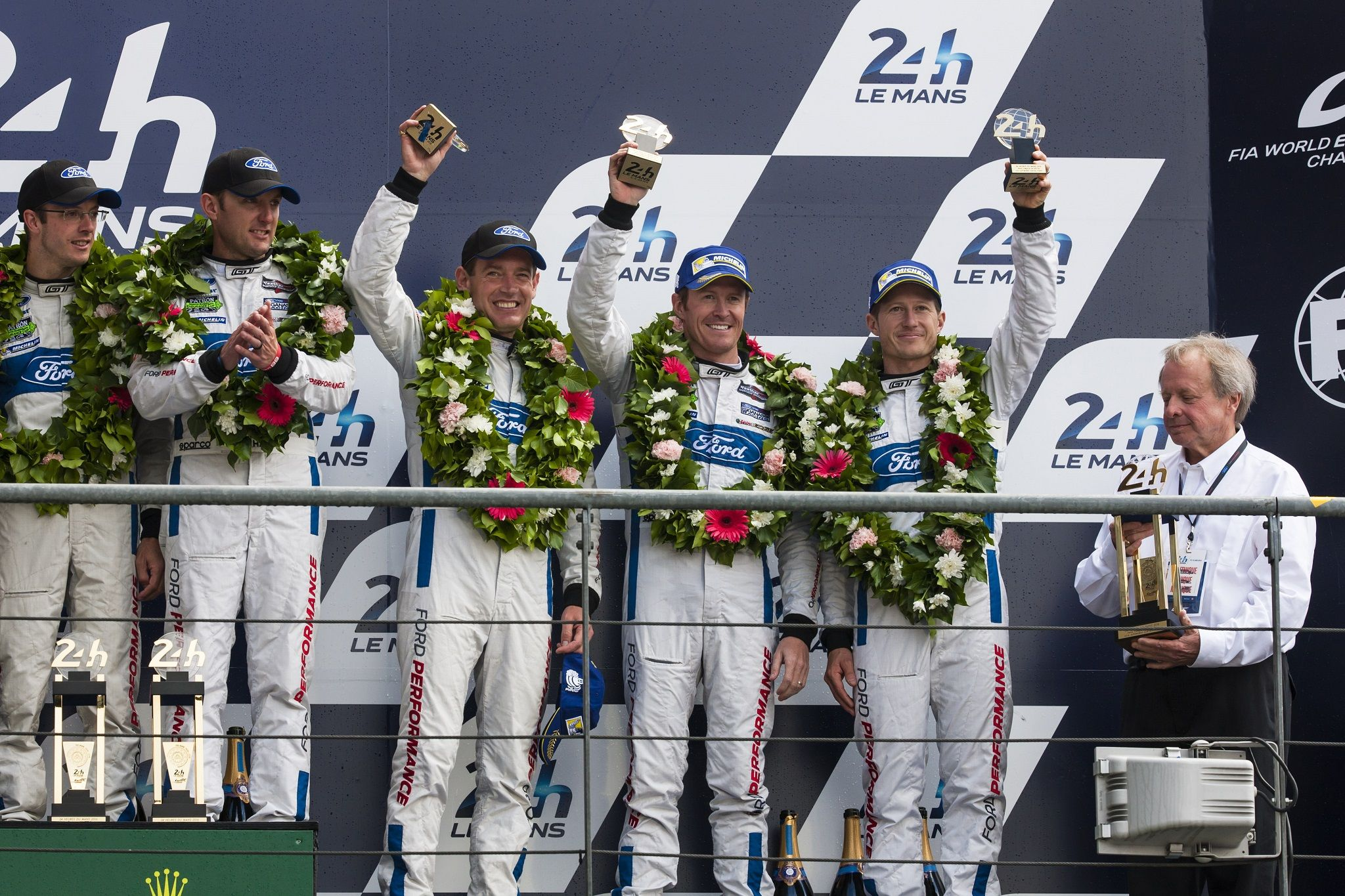 Ford Gt Takes First Third Fourth At The 24 Hours Of Le Mans