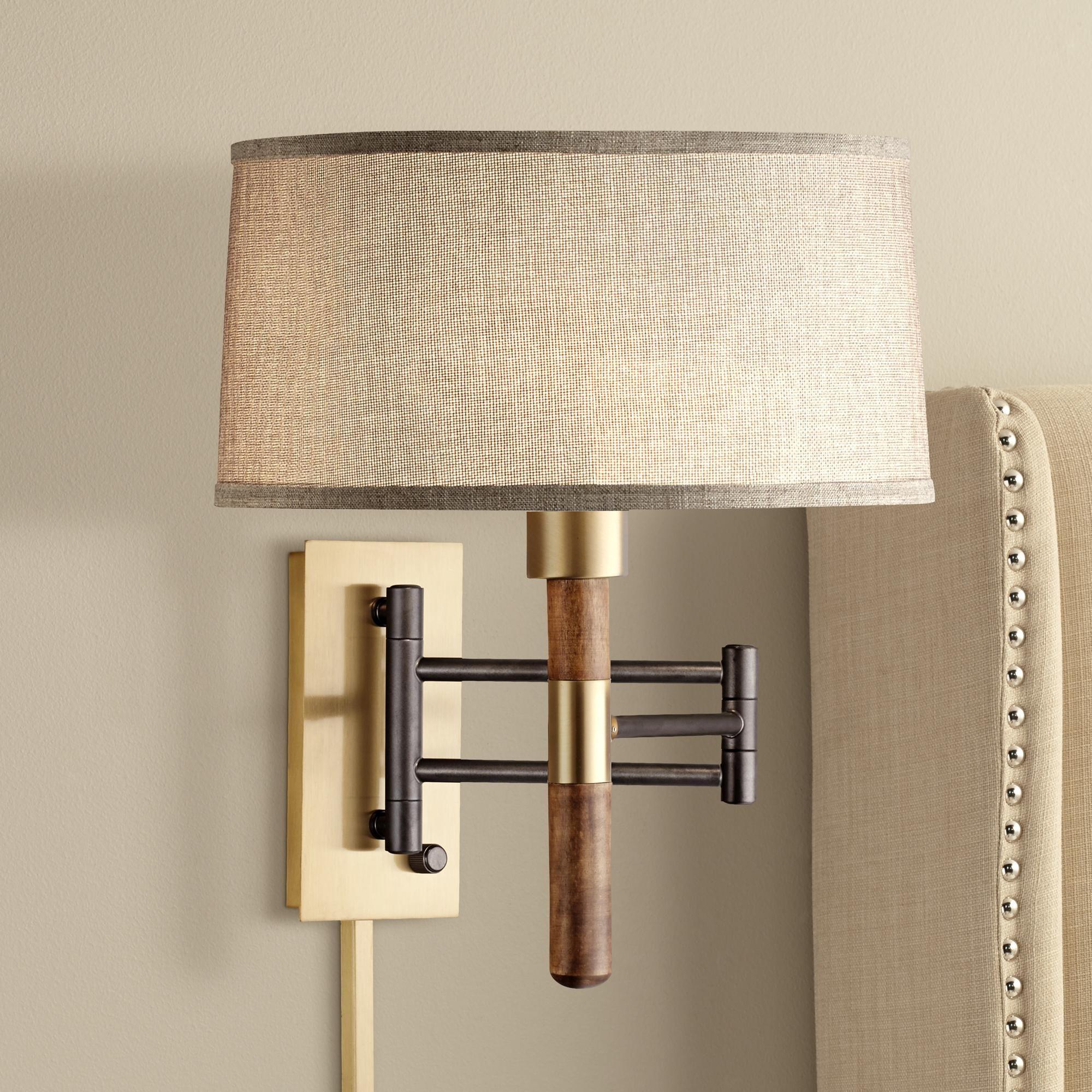 Pratt plug in style swing arm wall lamp 9j524 lamps plus airy