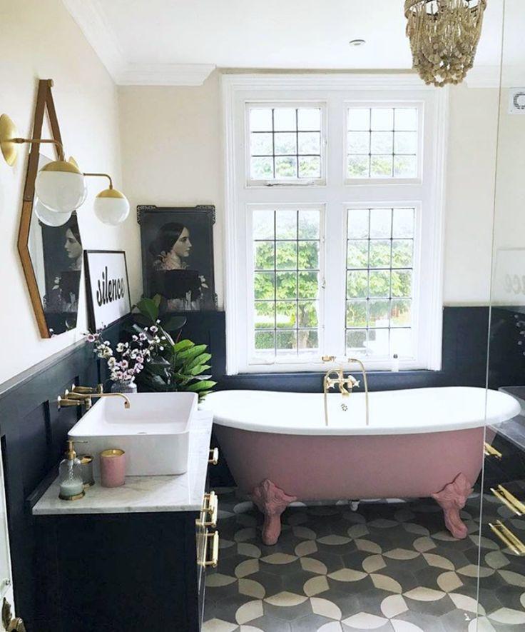 Trending small bathroom ideas amazing interiors pinterest home and decor also rh