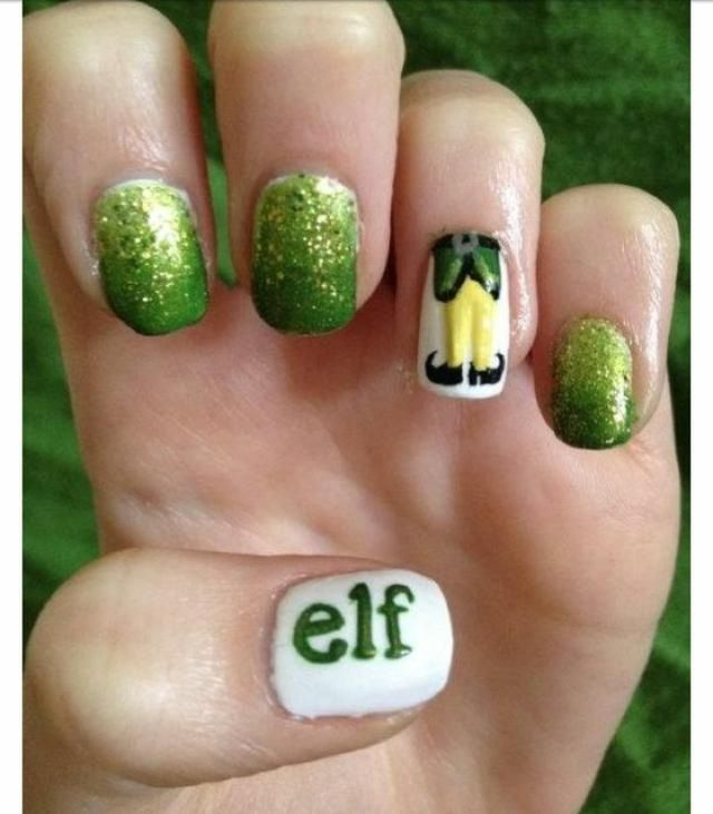 The movie 'elf' nails