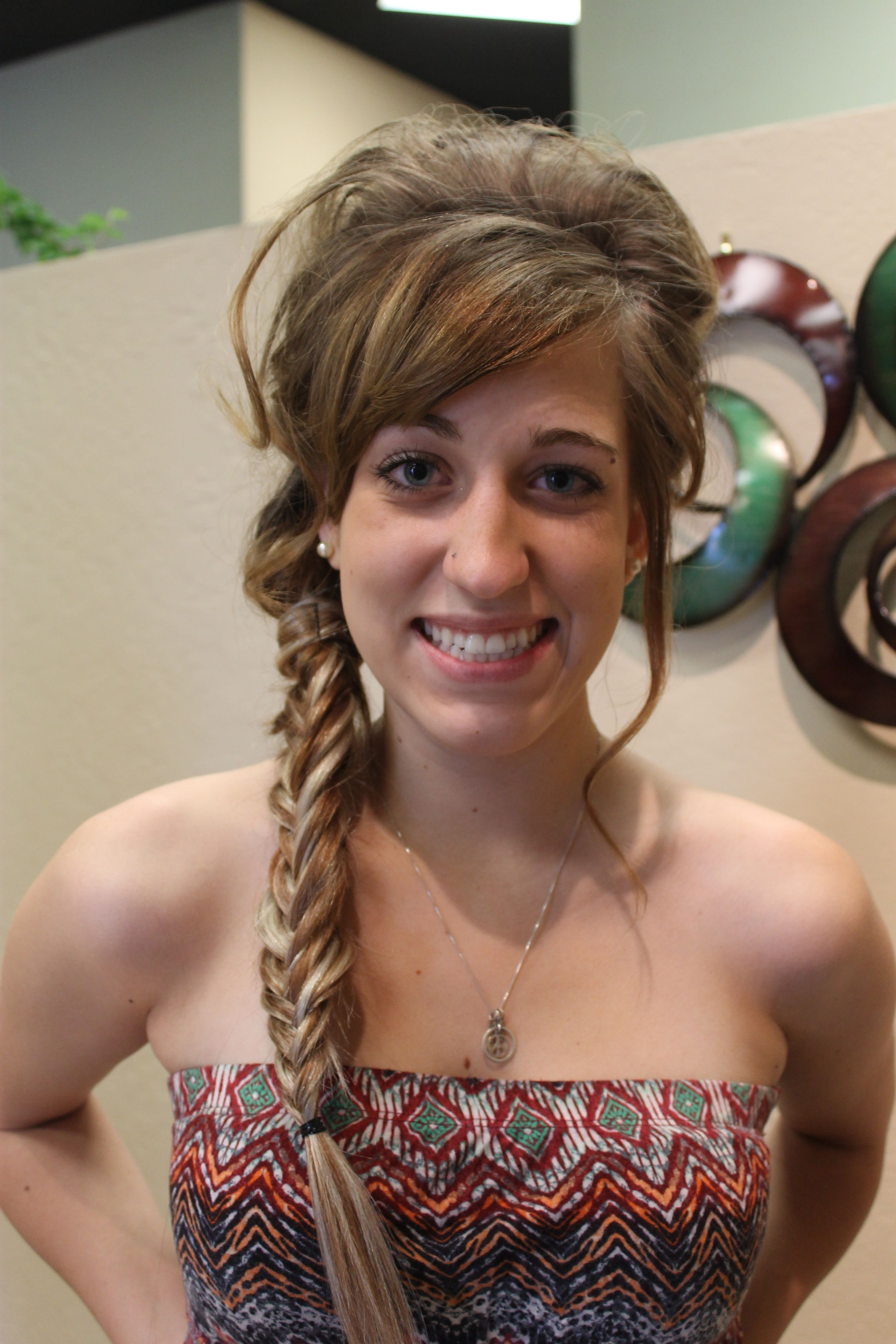 Prom hairstyles pinterest prom and bangs