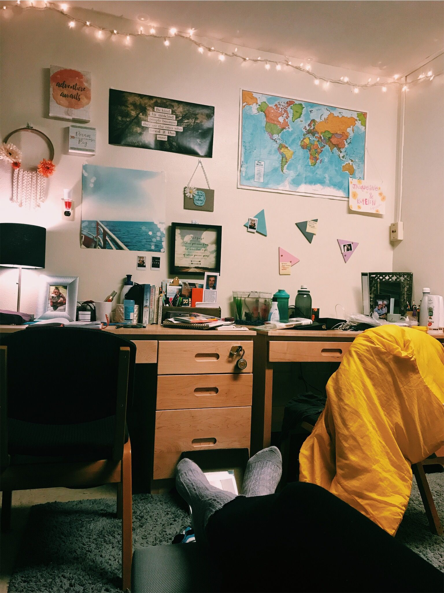 Travel Themed Dorm Room College Dorm Room Home Aesthetic Dorm Dorm Room
