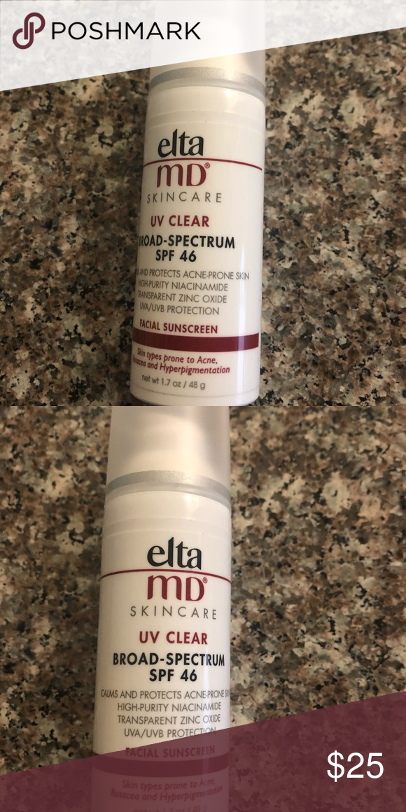EltaMD UV Clear broad spectrum spf45 Used for less than