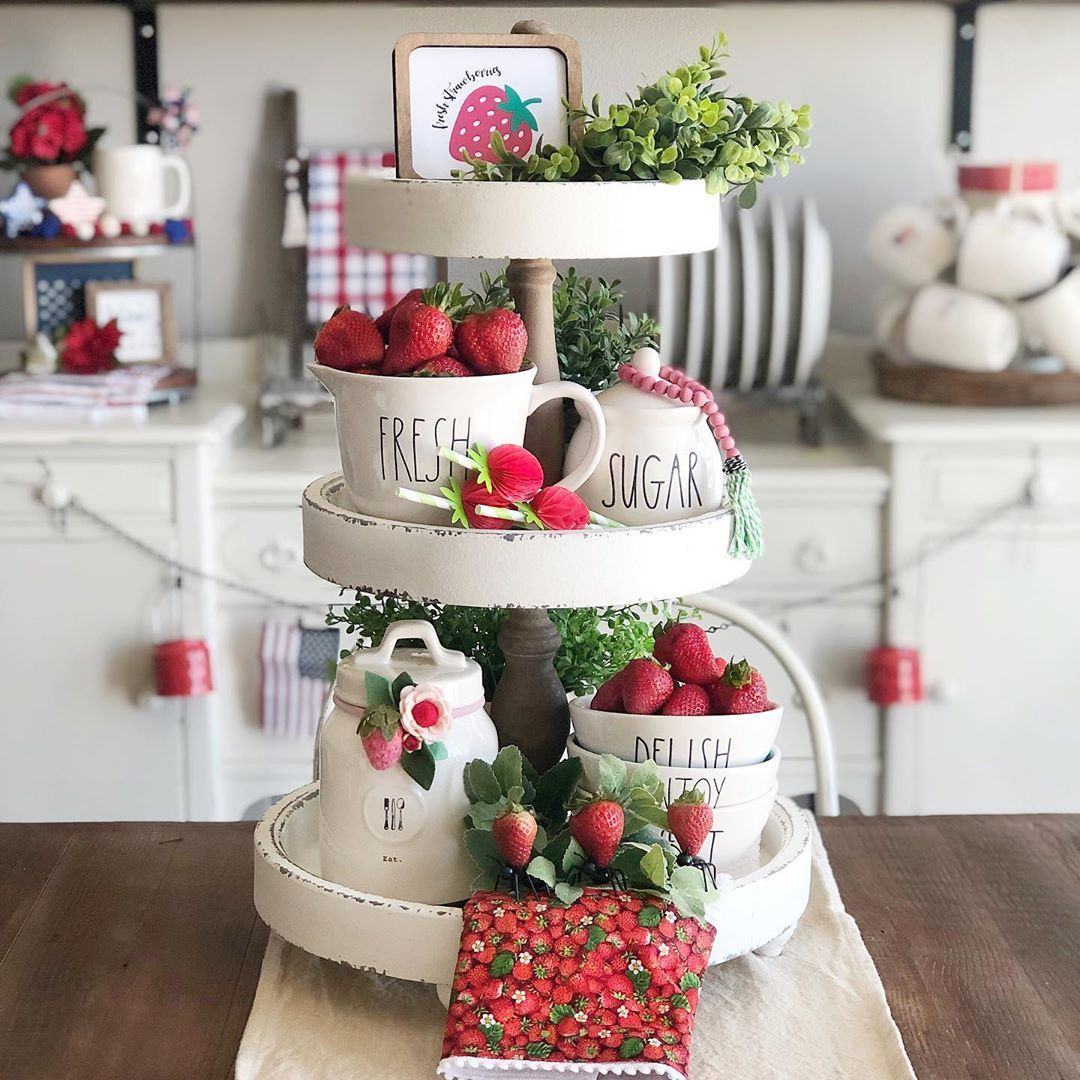 Yummy Strawberries What Is Your Favorite Thing To Make With Mine Strawberry Jam Hap Kitchen Decorations Summer