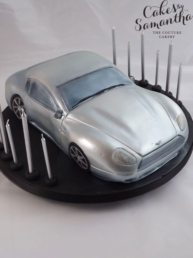 Aston Martin Db9 Birthday Cake Let Them Eat Cake Pinterest