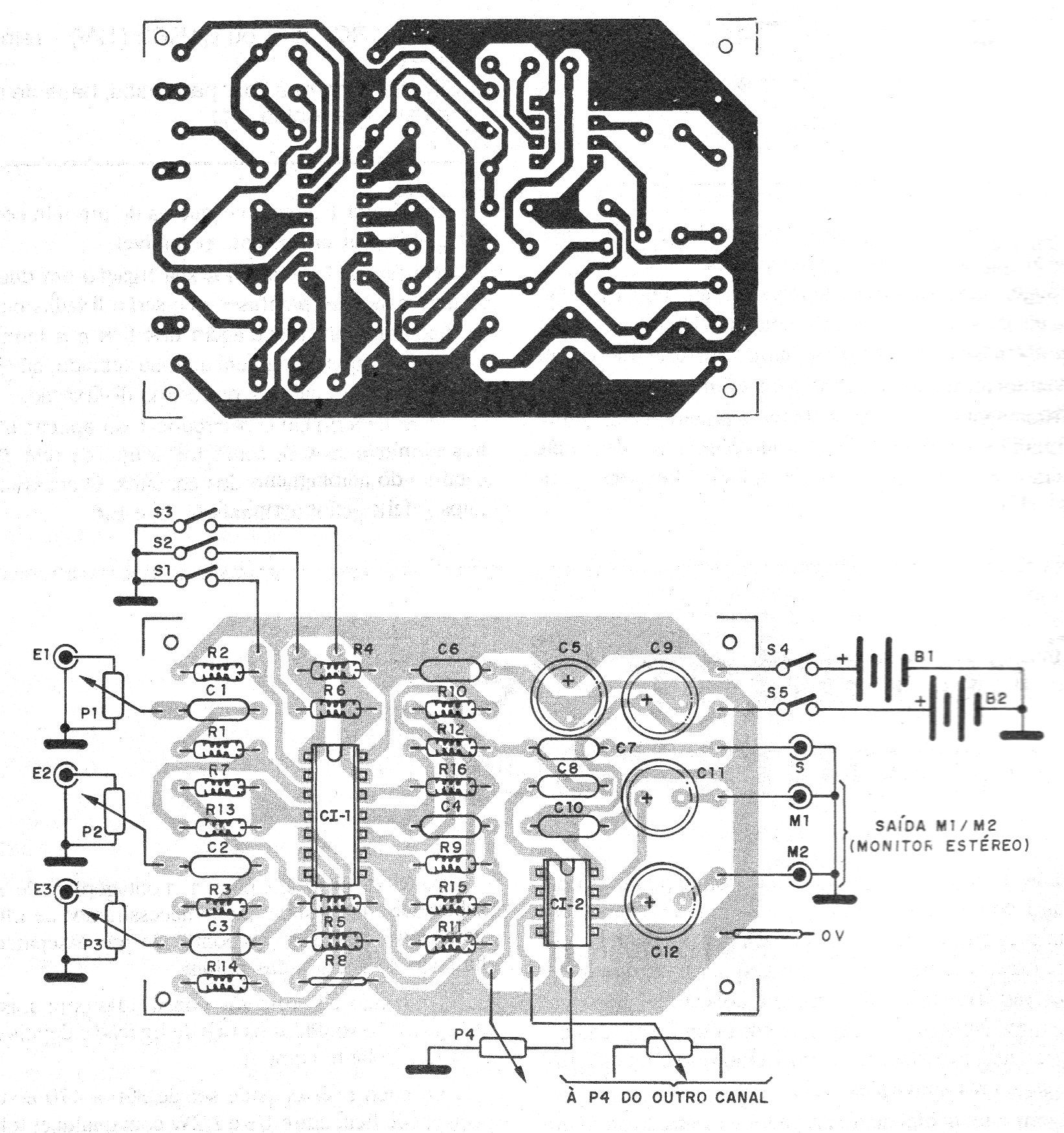 3 Bass Mid Treble Tone Control Circuits Projects Using Ne5532 Preamplifier Circuit Diagrams Guitar Pinterest And Electronics