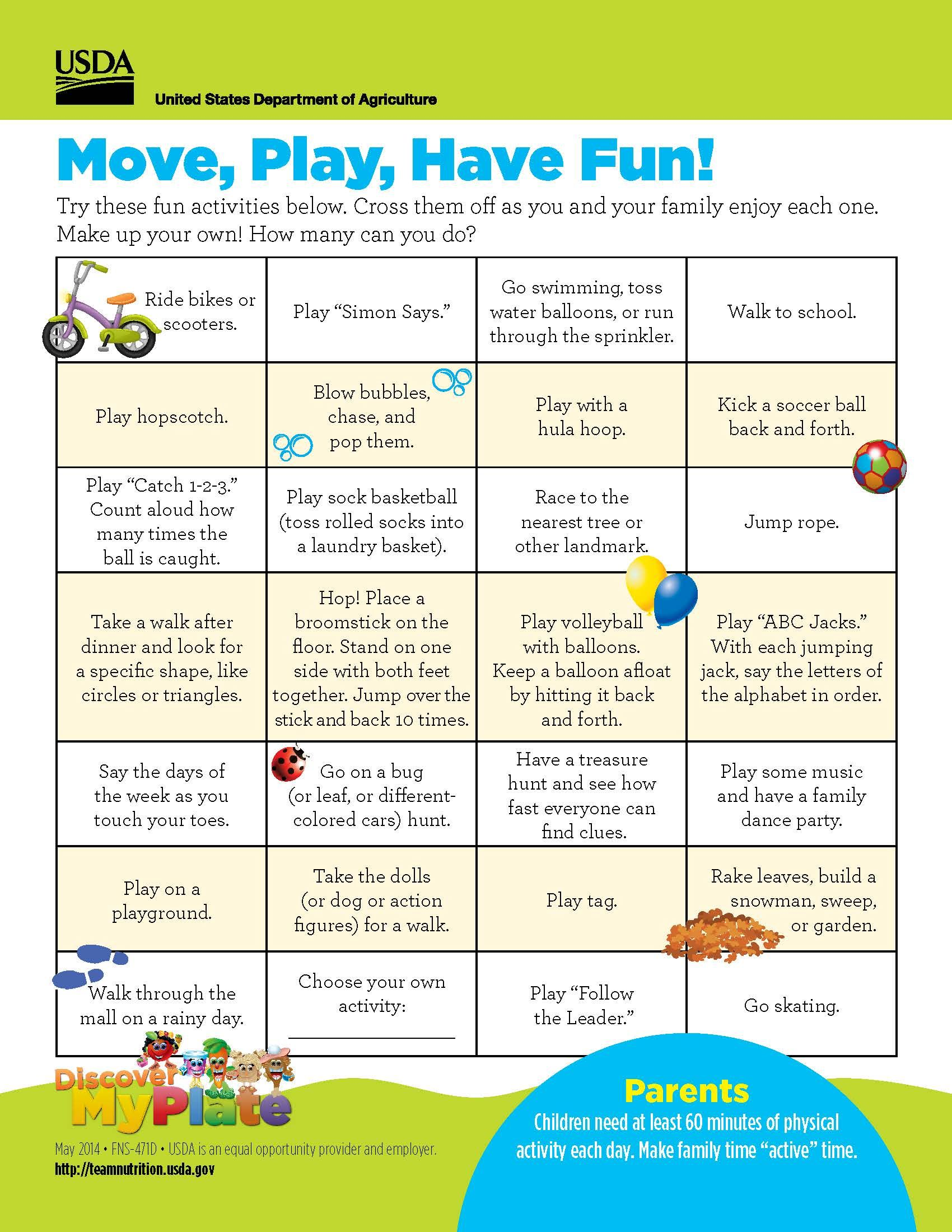 Try These Fun Ideas To Help Your Child Stay Physically