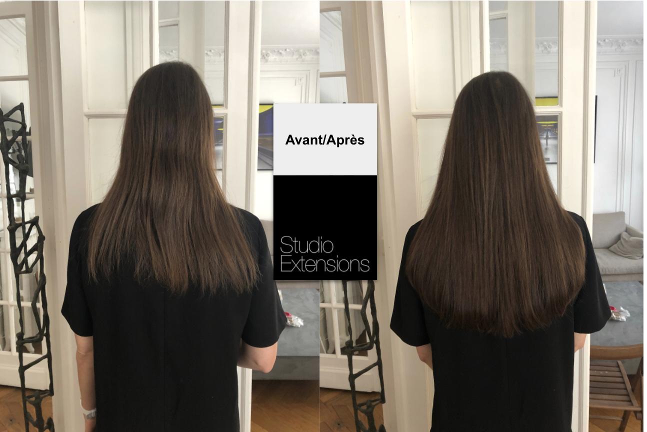 Extensions De Cheveux Pour Unifier Et Donner Du Volume Aux Cheveux Extension Cheveux Avant Apres Extension Cheveux Cheveux Avant Apres