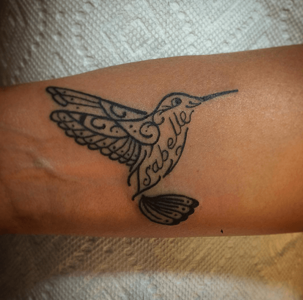 45 Bird Tattoos For Men And Women: 45 Hummingbird Tattoo Ideas For Women That Are Spectacular