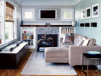 Ordinaire Cool Colour Room The Use Of Blue In This Room, A Cool Colour, Makes
