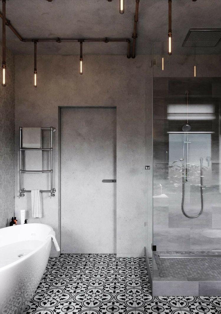Wie Erstellen Badezimmer Lampen Fotogallerie Badezimmerschrank Industrial Style Bathroom Industrial Home Design Industrial Bathroom Decor