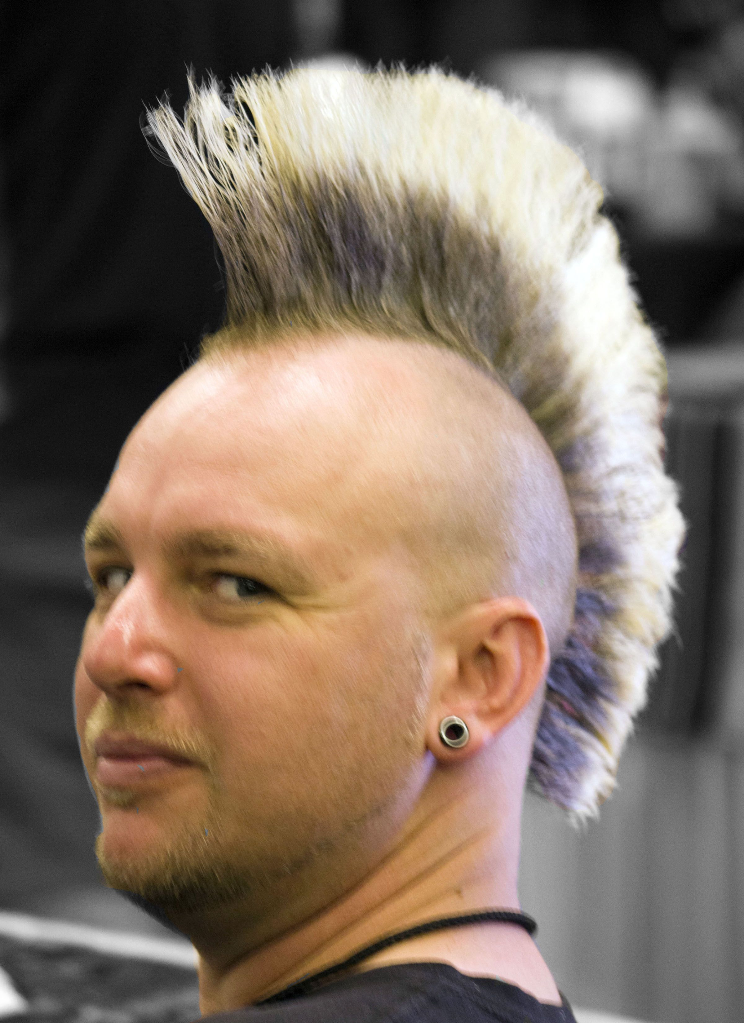 Mohawk Pic Mr T Needs Inspiration Every Now And Then A Good