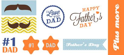 Sizzix.co.uk - Free Father's Day Papers 2015 Download