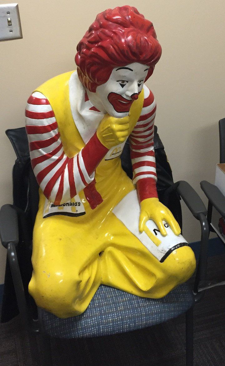 Image result for ronald mcdonald statue for sale | vintage american ...