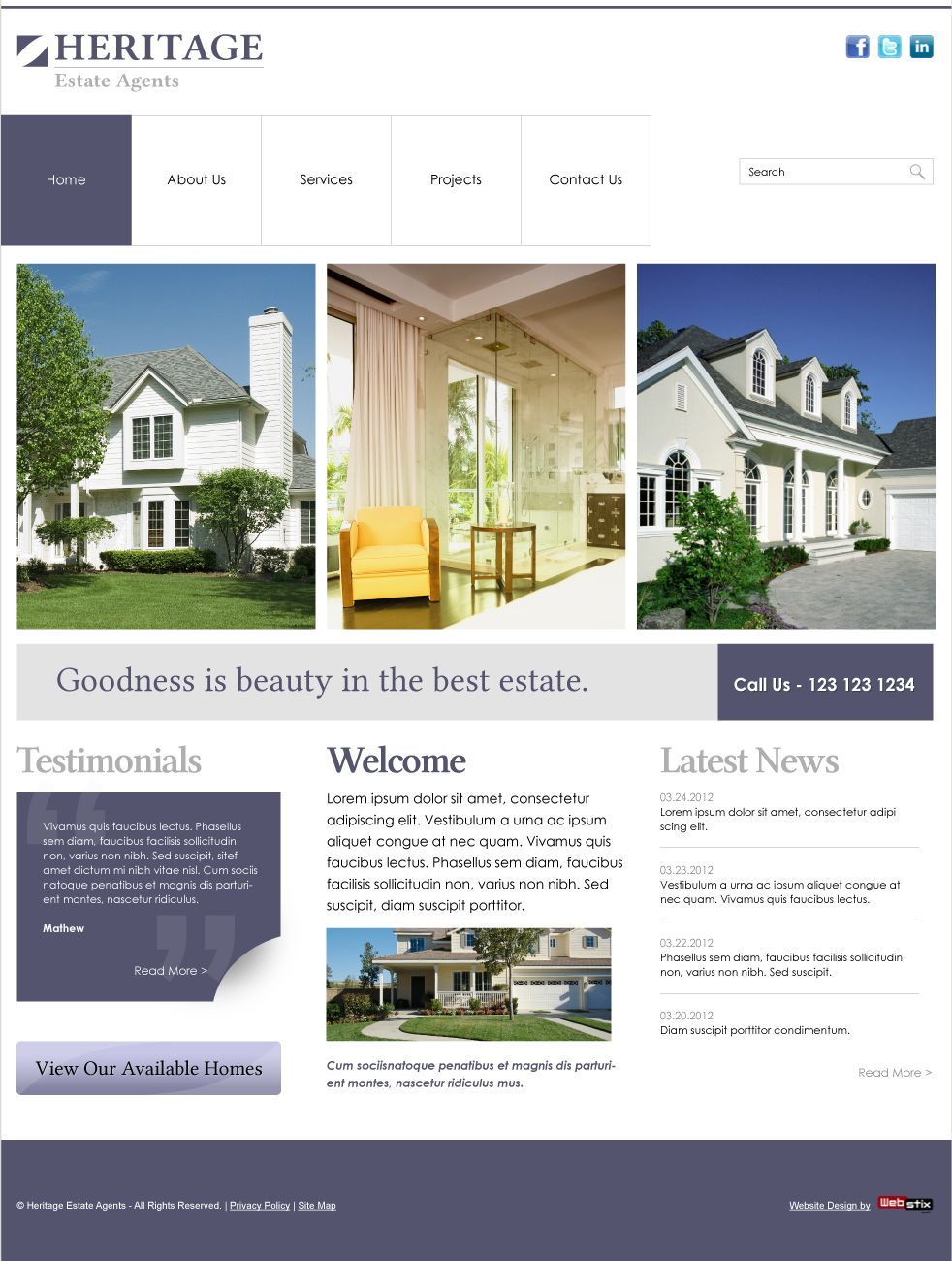 Home Builder Website Designs | Webstix X Press