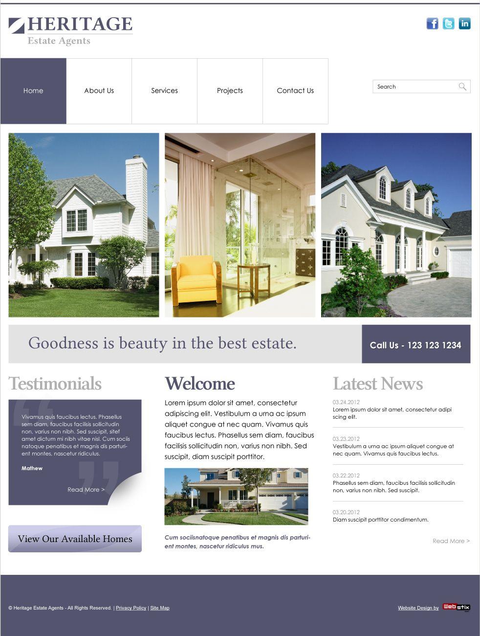 Home Builder Website Designs | Webstix X Press